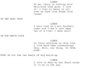 Lindsay Lohan Inferno Script leaked