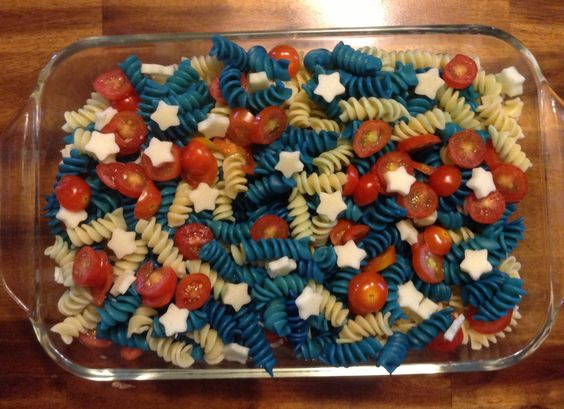 4th of july pasta