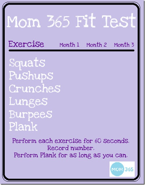 Mom365FitTest