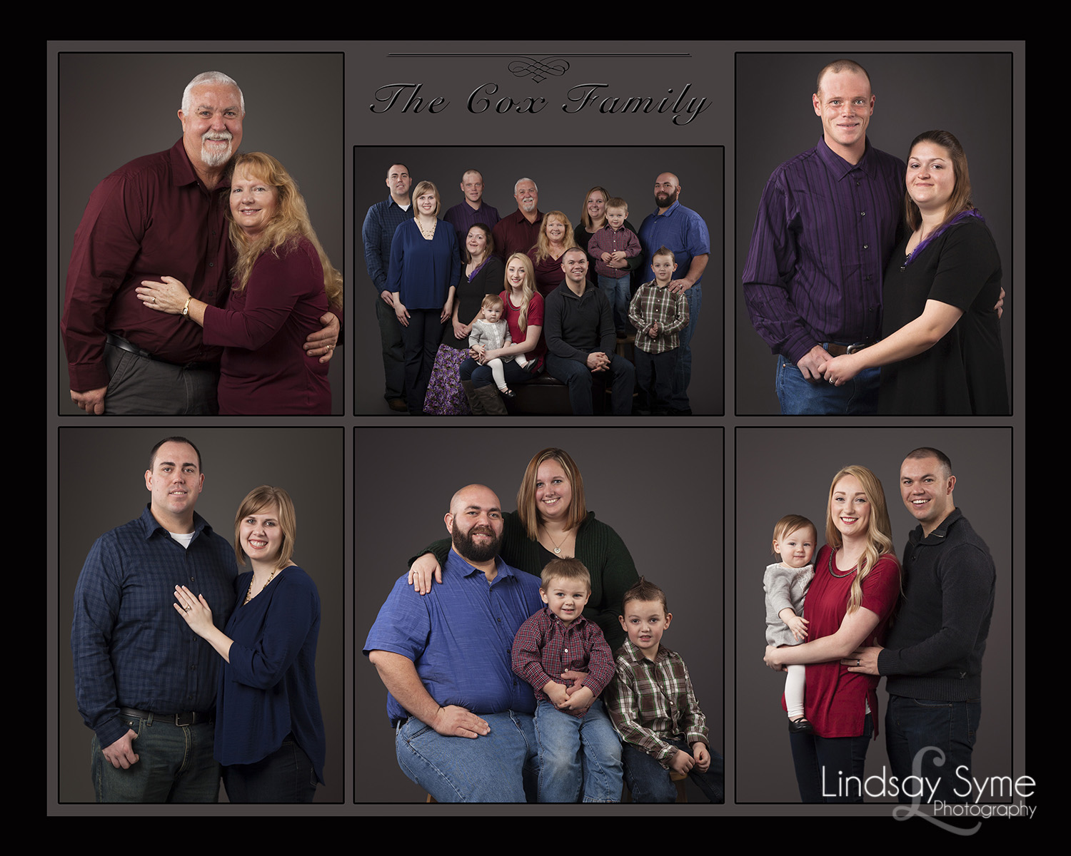 Decorate The Walls With Extended Family Portraits