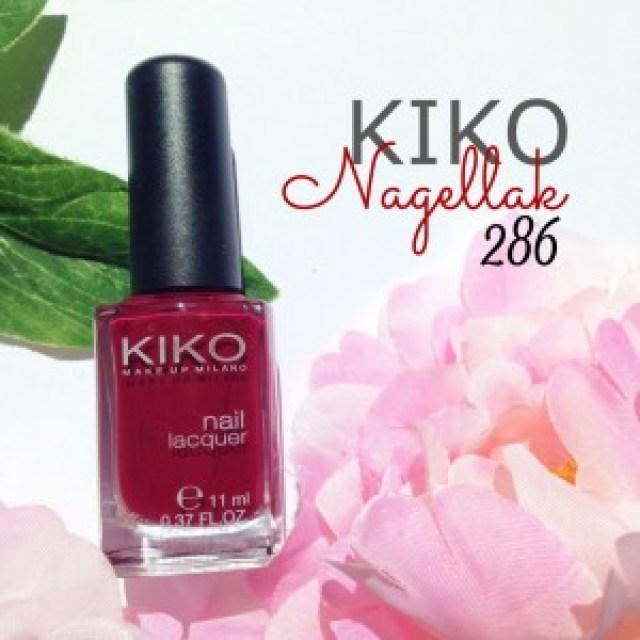 Kiko Nagellak 286