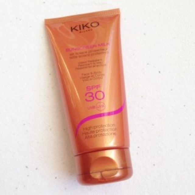Kiko Sunscreen Milk