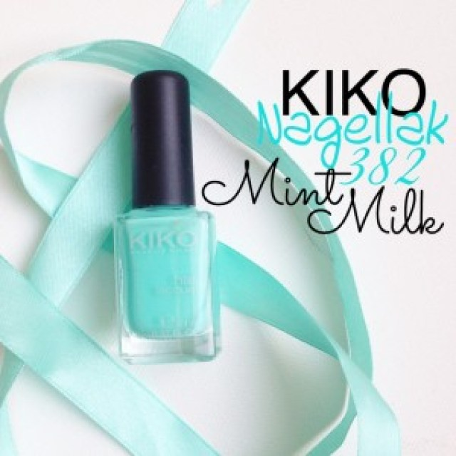 Kiko Nagellak 389 Mint Milk