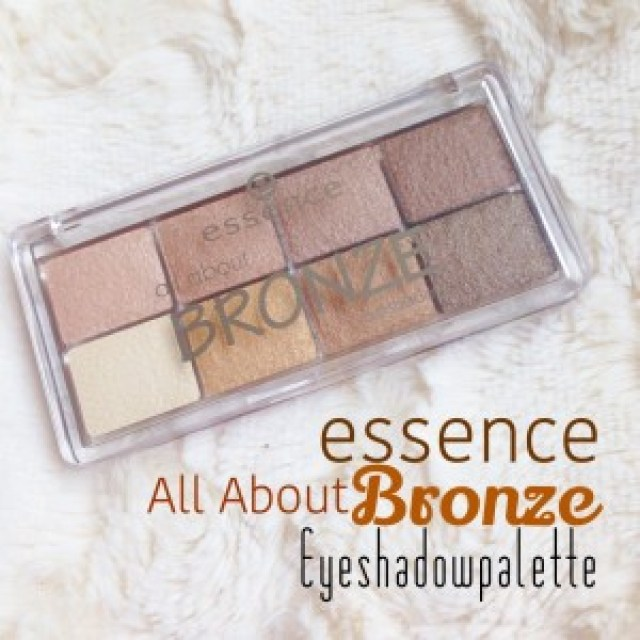 Essence All About Bronze Eyeshadowpalette