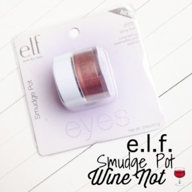 ELF Smudge Pot Wine Not