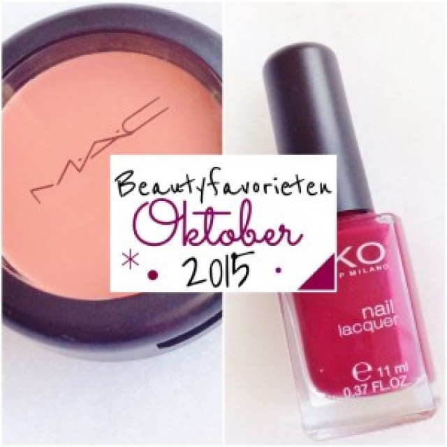 Beautyfavorieten Oktober 2015