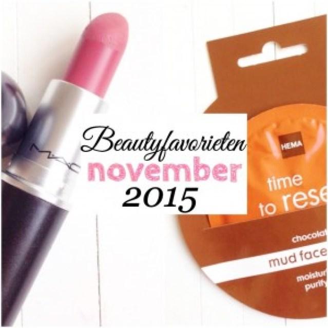 Beautyfavorieten November 2015