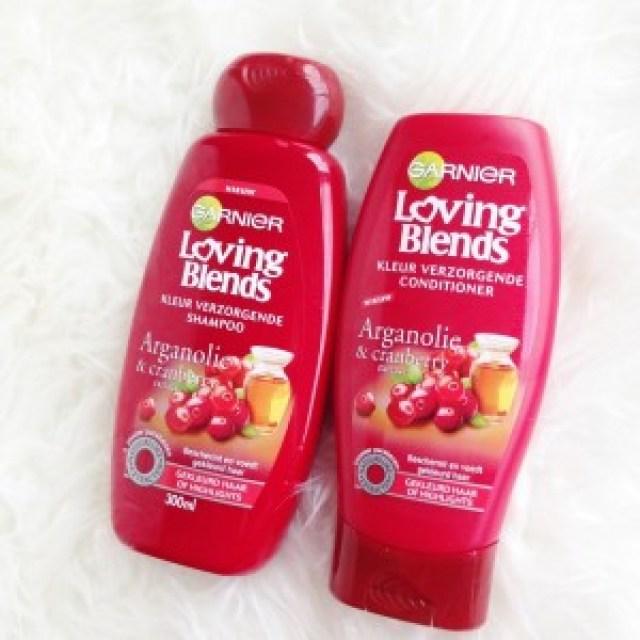Garnier Loving Blends Arganolie en Cranberry