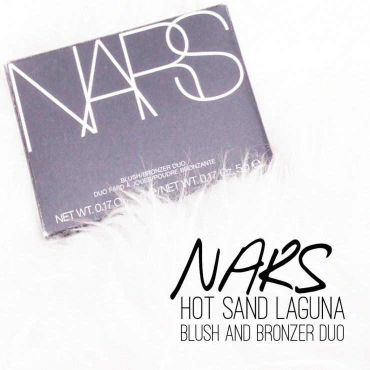 NARS Hot Sand Laguna Blush and Bronzer Duo