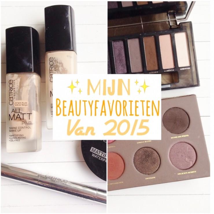 Mijn Beautyfavorieten van 2015