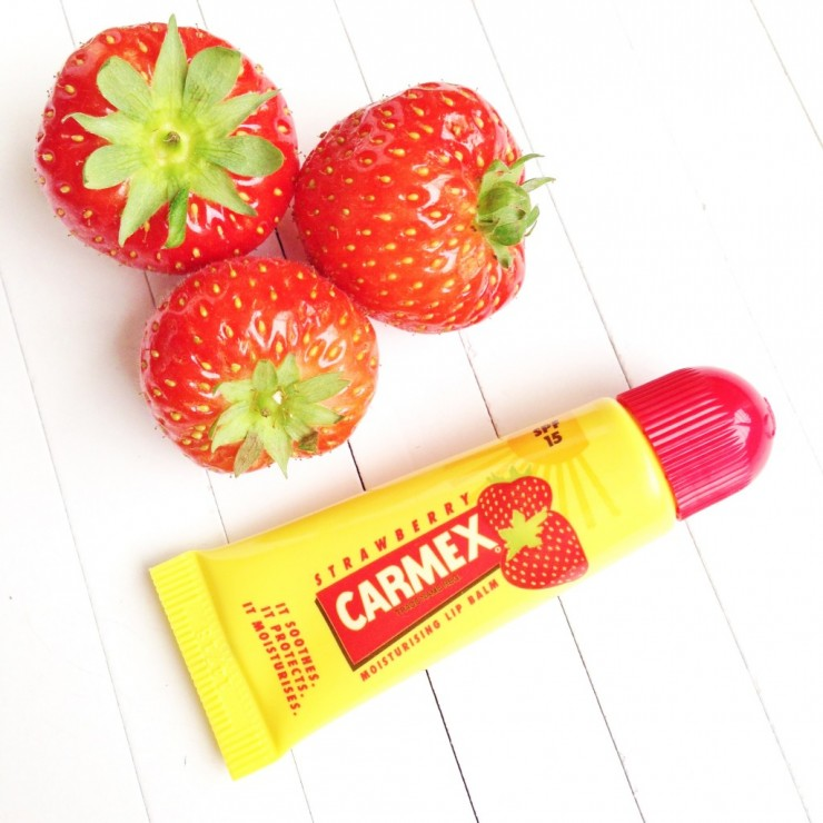 Carmex Strawberry Lip Balm