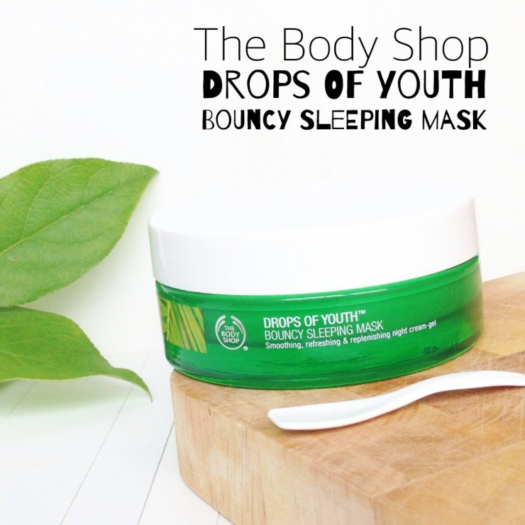 The Body Shop Drops of Youth Bouncy Sleeping Mask