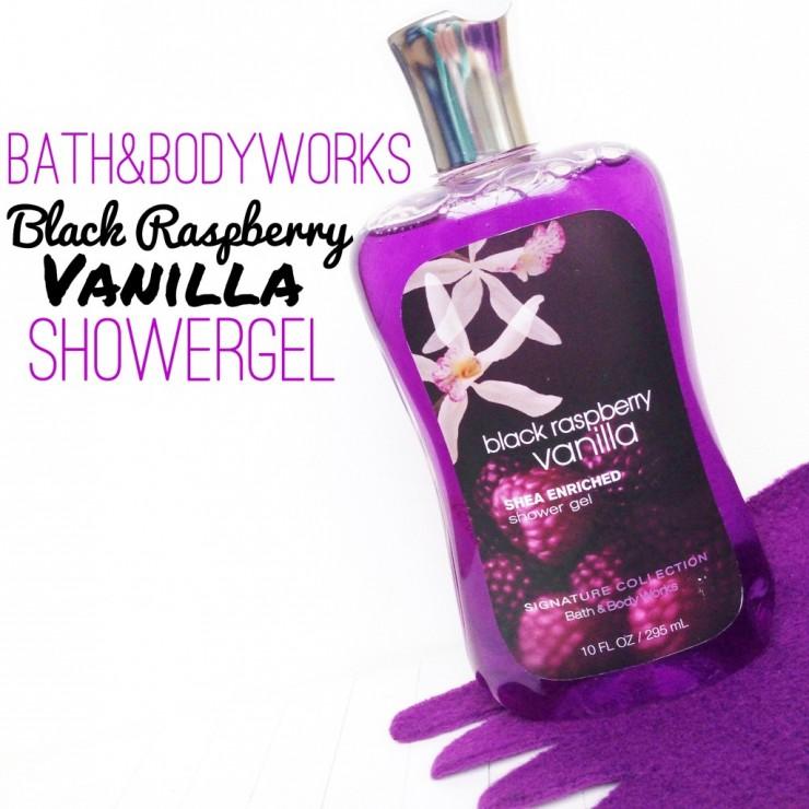 Bath&Bodyworks Black Raspberry Vanilla Showergel