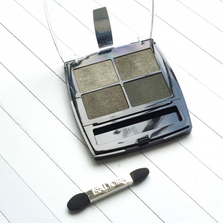 IsaDora Eye Shadow Quartet Urban Green