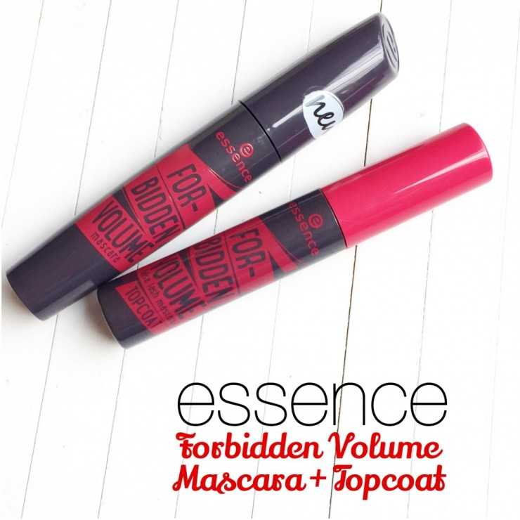 Essence Forbidden Volume Mascara + Topcoat