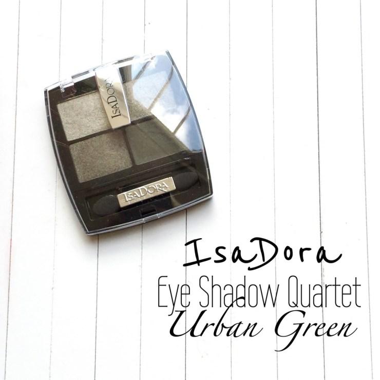 IsaDora Eye Shadow Quartet Urban Green
