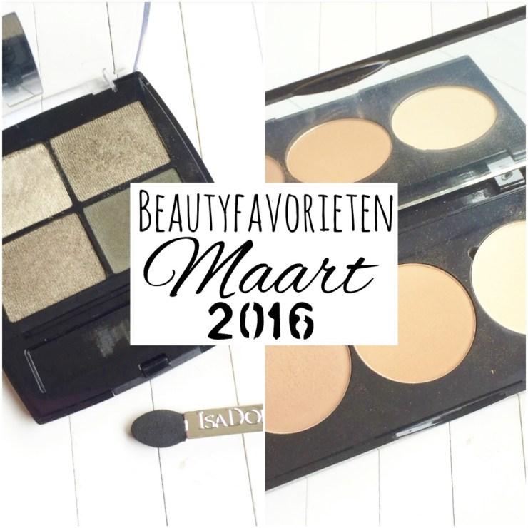 Beautyfavorieten Maart 2016