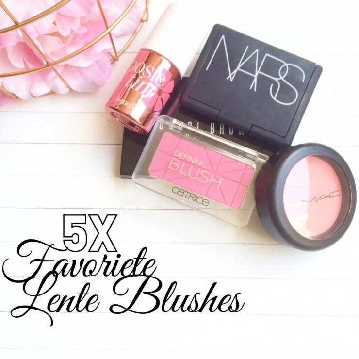 5x Favoriete Lente Blush
