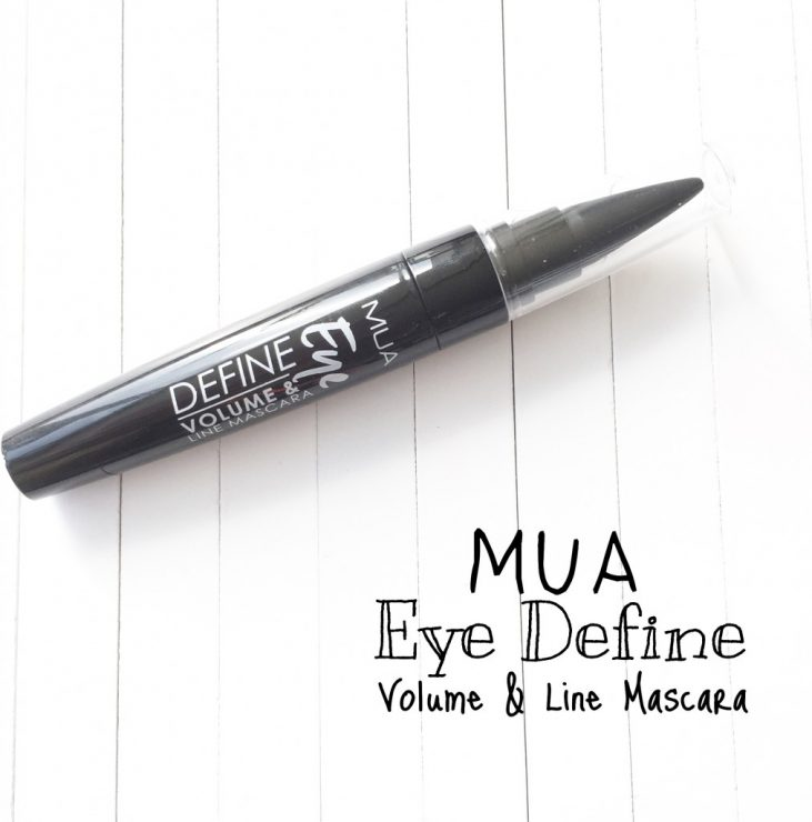 MUA Eye Define Volume & Line Mascara