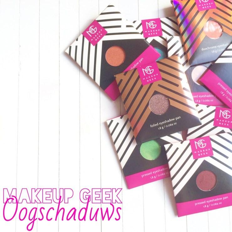Makeup Geek Oogschaduws