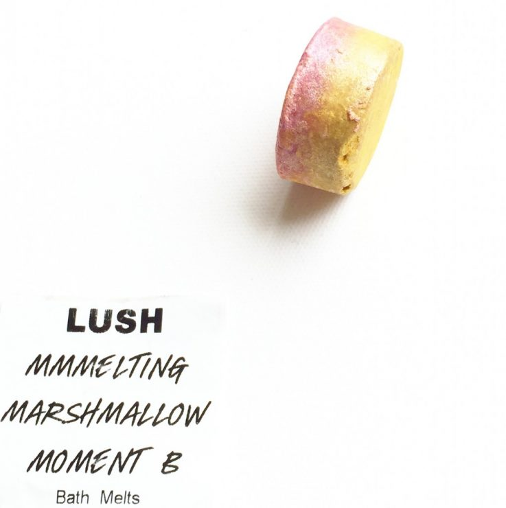 LUSH Melting Marshmallow Moment