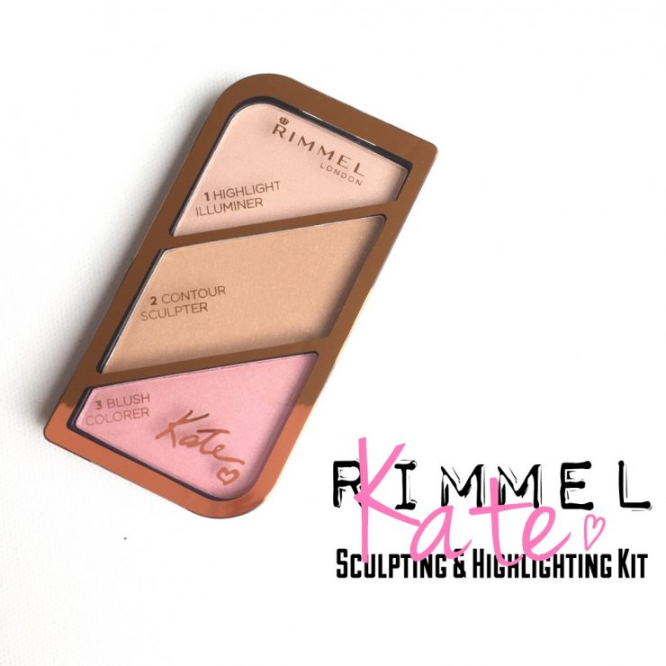 Rimmel Kate Sculpting & Highlighting Kit