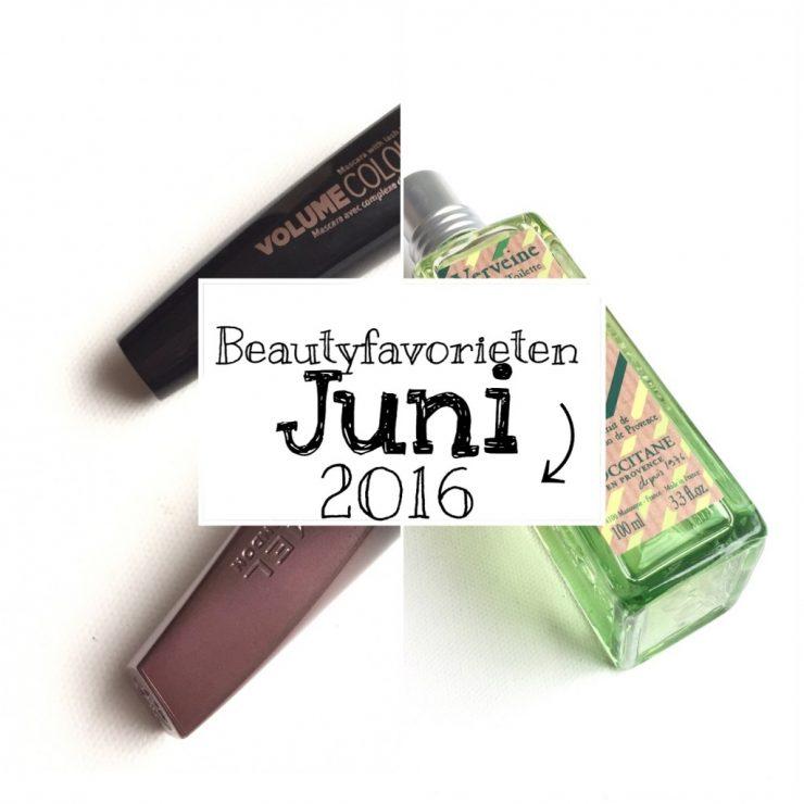 Beautyfavorieten Juni 2016