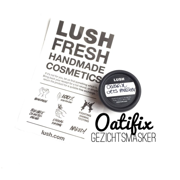 Lush Oatifix gezichtsmasker