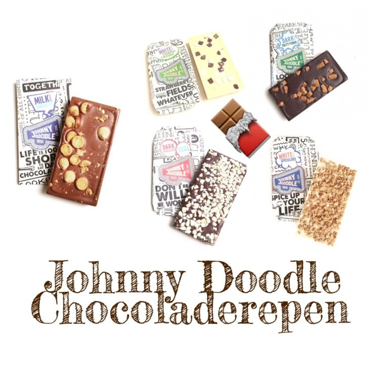 Johnny Doodle Chocoladerepen