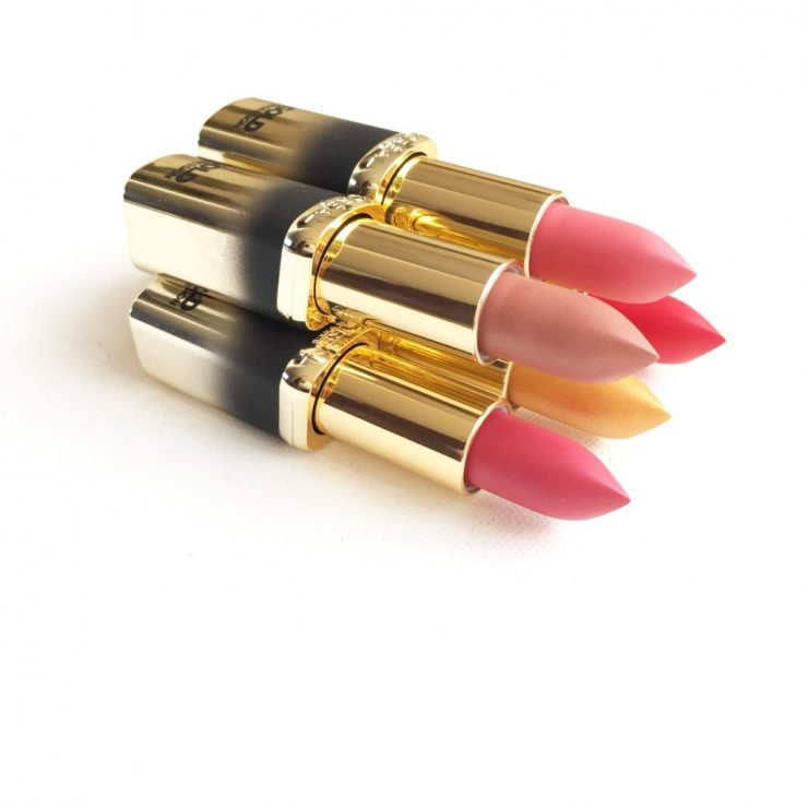 L'Oréal Color Riche Gold Obsession Lipsticks