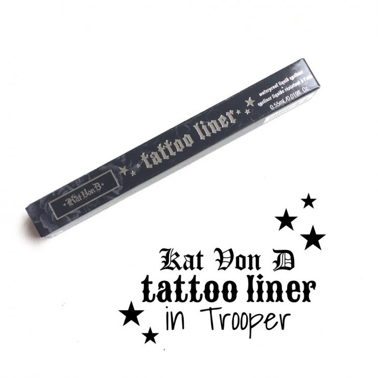 Kat Von D Tattoo Liner in Trooper