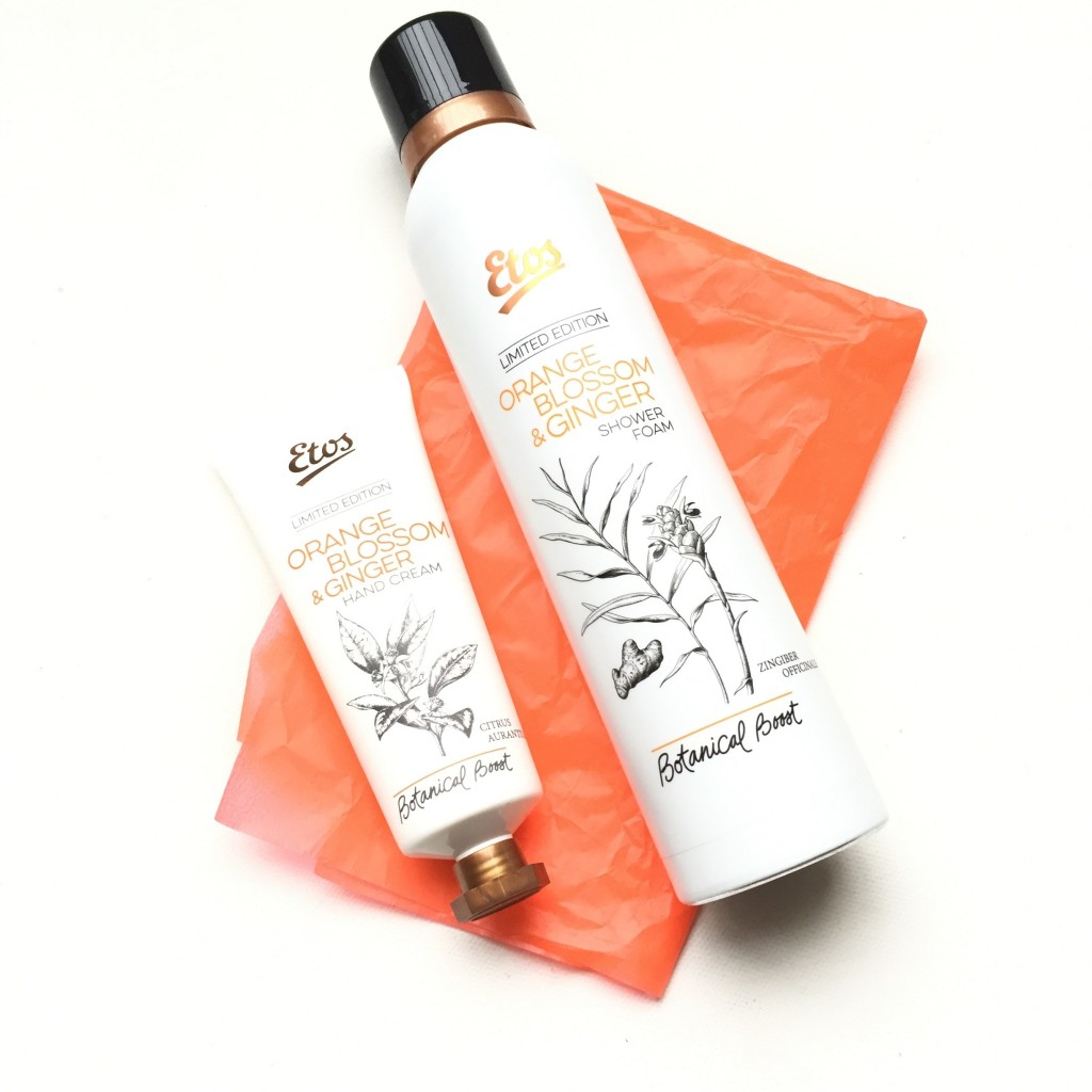 Etos Botanical Boost Orange Blossom & Ginger