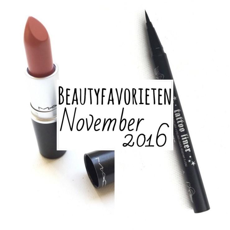 Beautyfavorieten November 2016