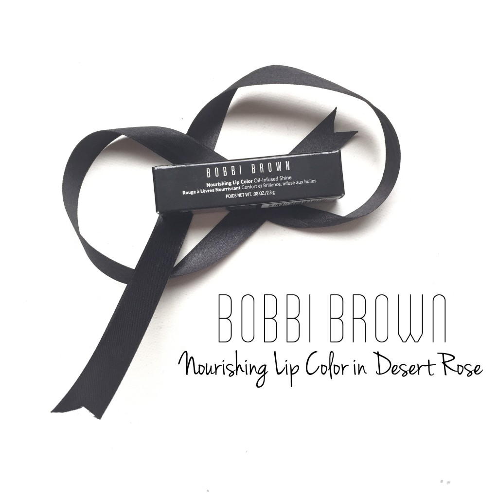 Bobbi Brown Nourishing Lip Color in Desert Rose