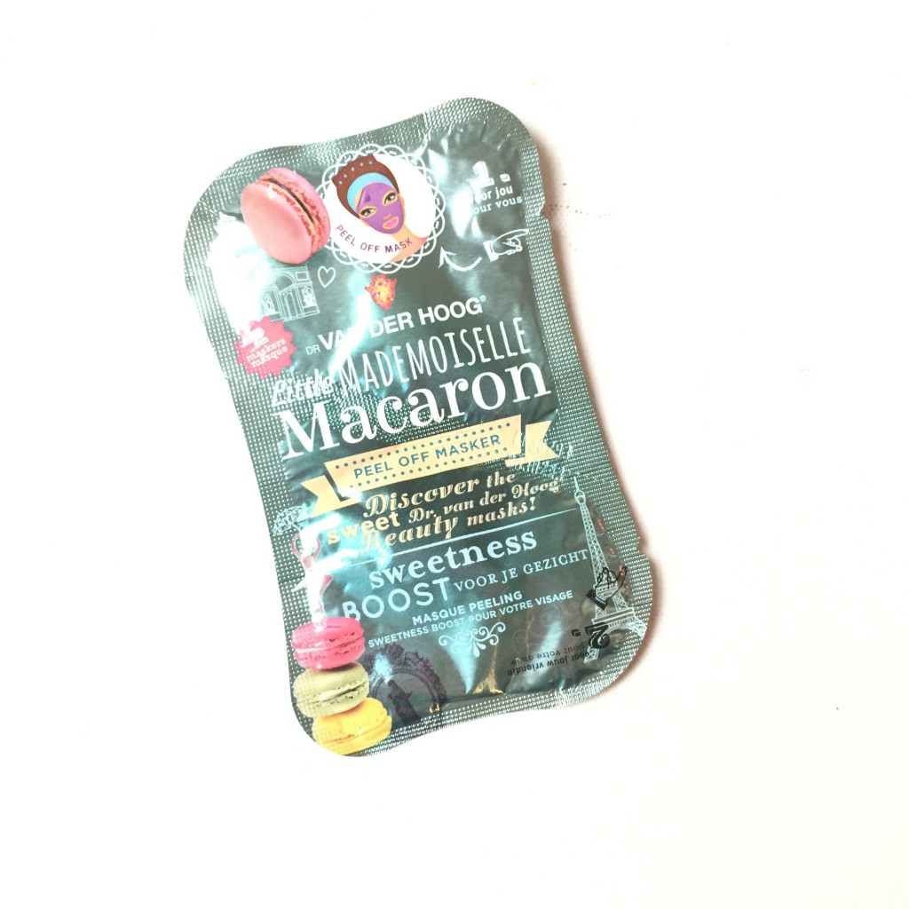 Dr. van der Hoog Little Mademoiselle Macaron peel off masker