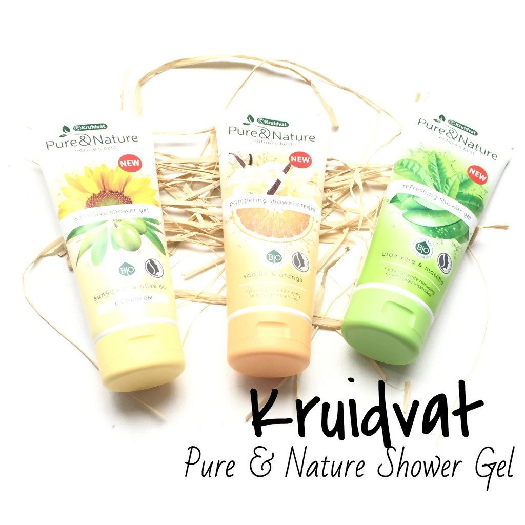 Kruidvat Pure & Nature Shower Gel