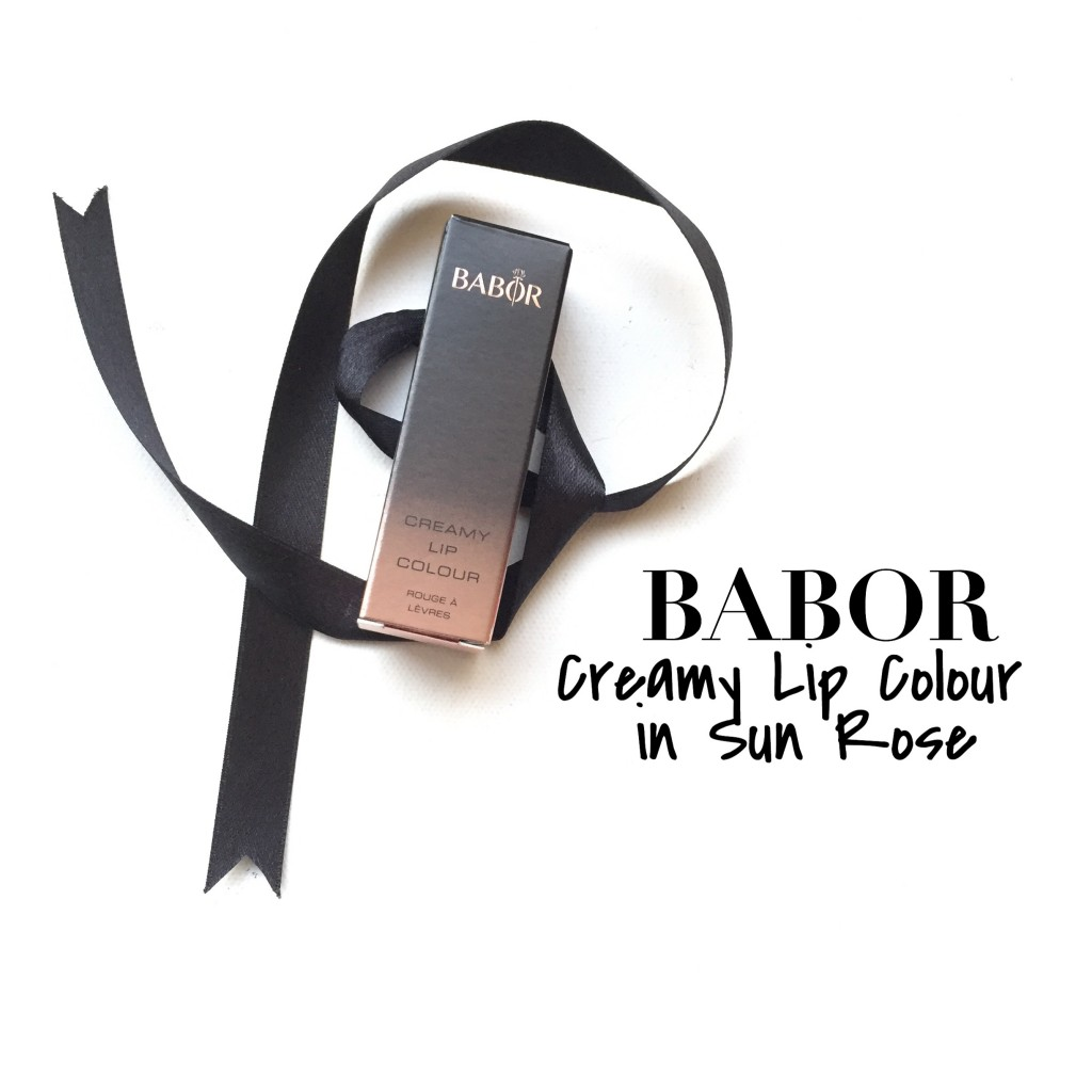 Babor Creamy Lip Colour in Sun Rose