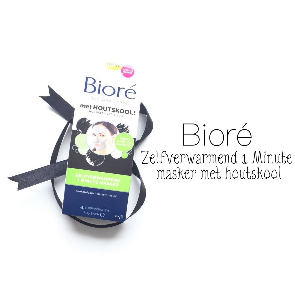 Bioré Zelfverwarmend 1 Minute Masker met Houtskool