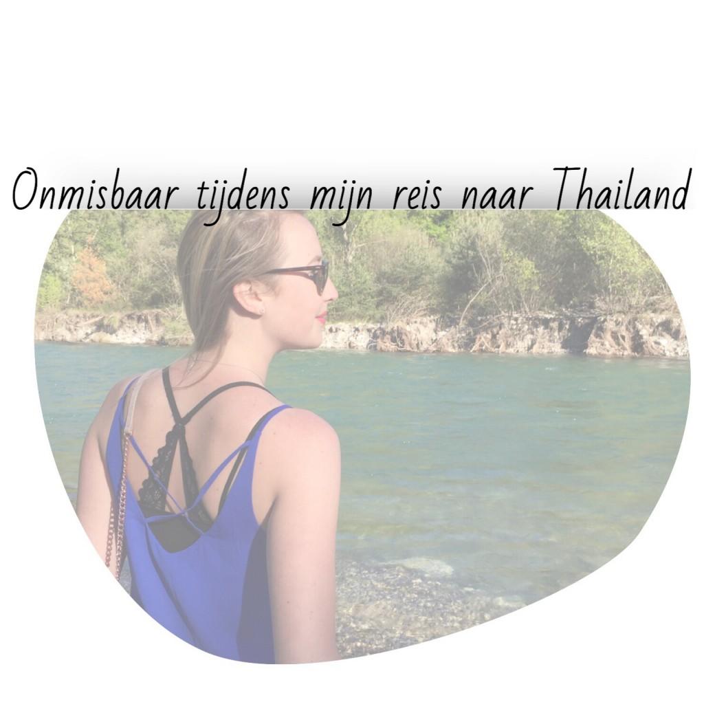 Onmisbaar tijdens mijn reis naar Thailand