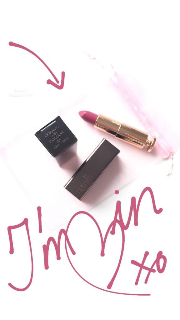 Babor Creamy Lip Colour in Light Violet