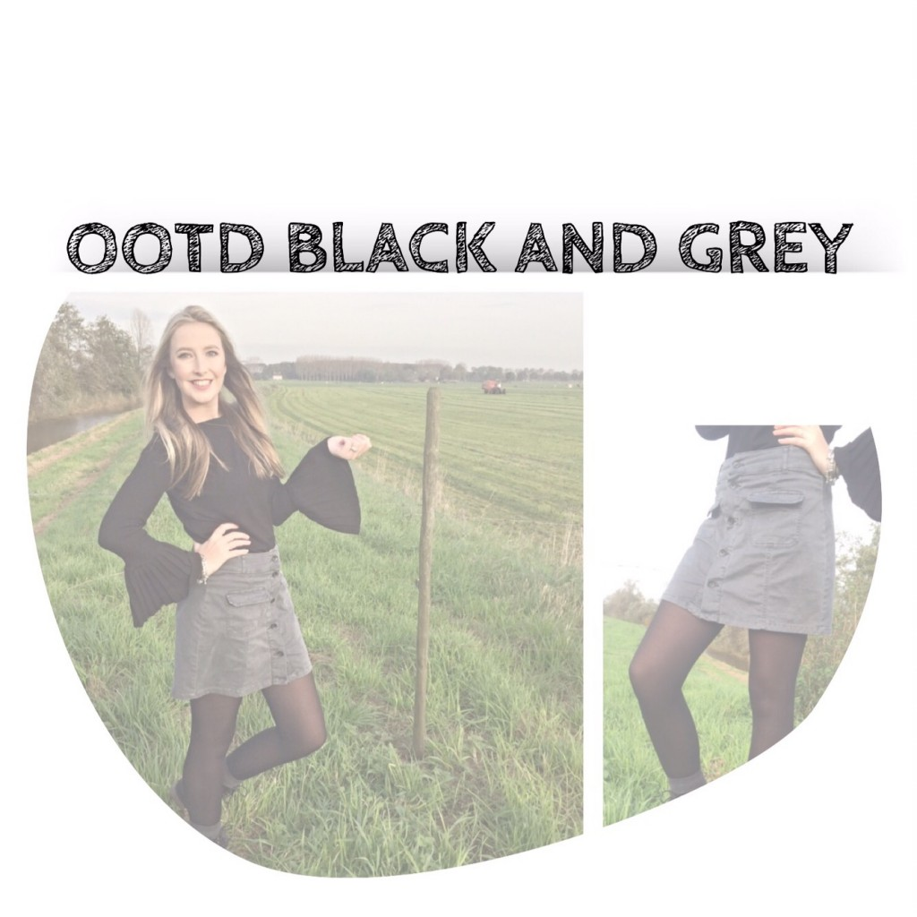 OOTD Black and Grey