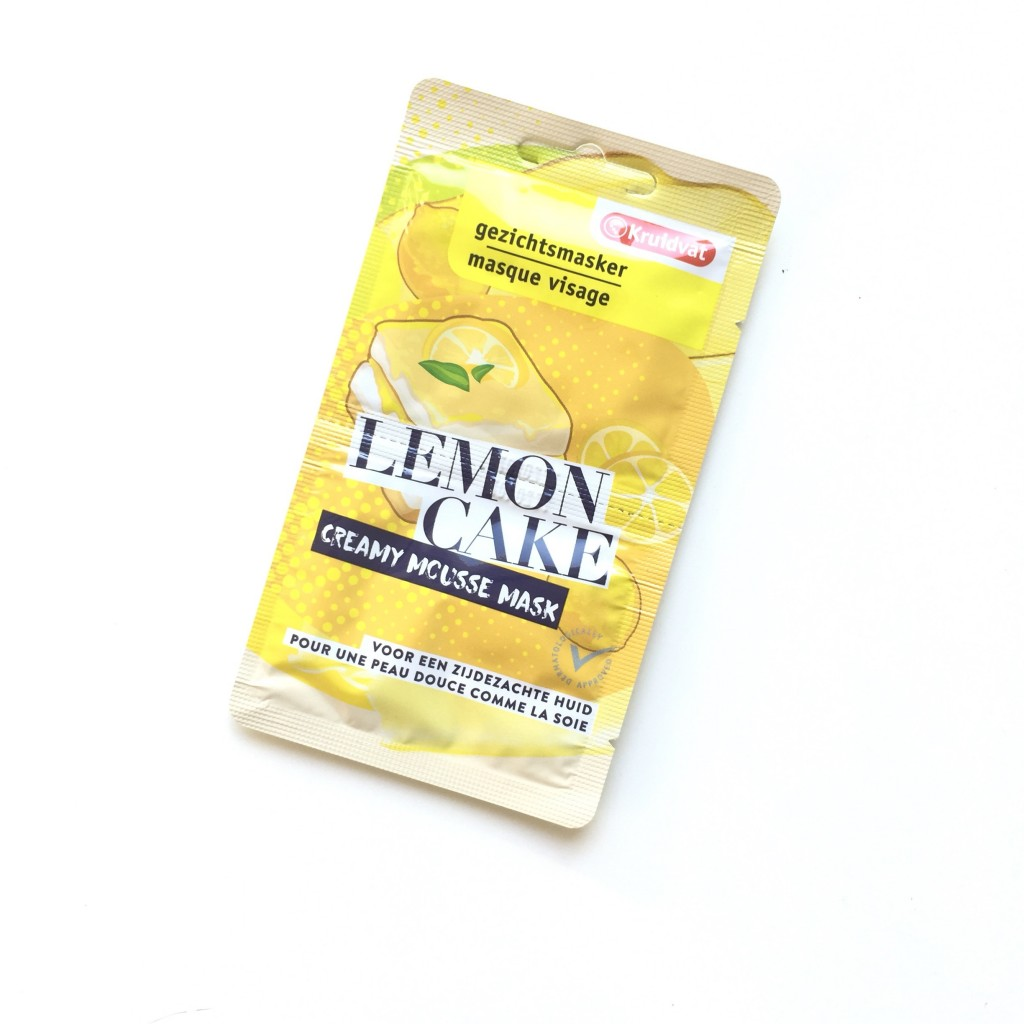 Kruidvat Lemon Cake Creamy Mousse Mask