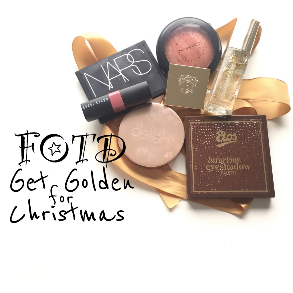 FOTD Get Golden for Christmas