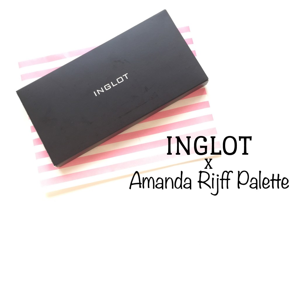 Inglot x Amanda Rijff Palette