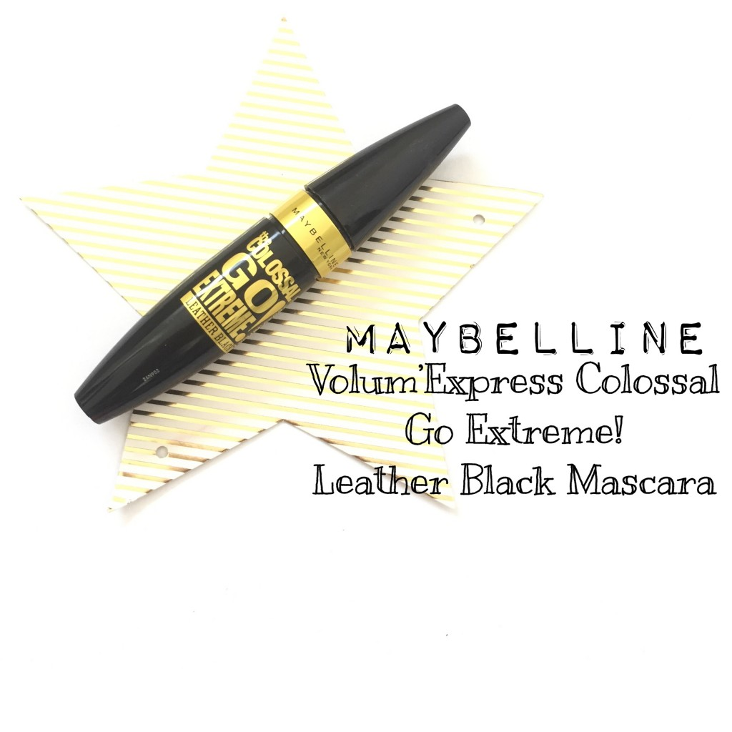 Maybelline Volum'Express Colossal Go Extreme Leather Black Mascara