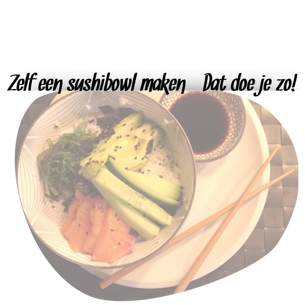 Zelf een sushibowl maken