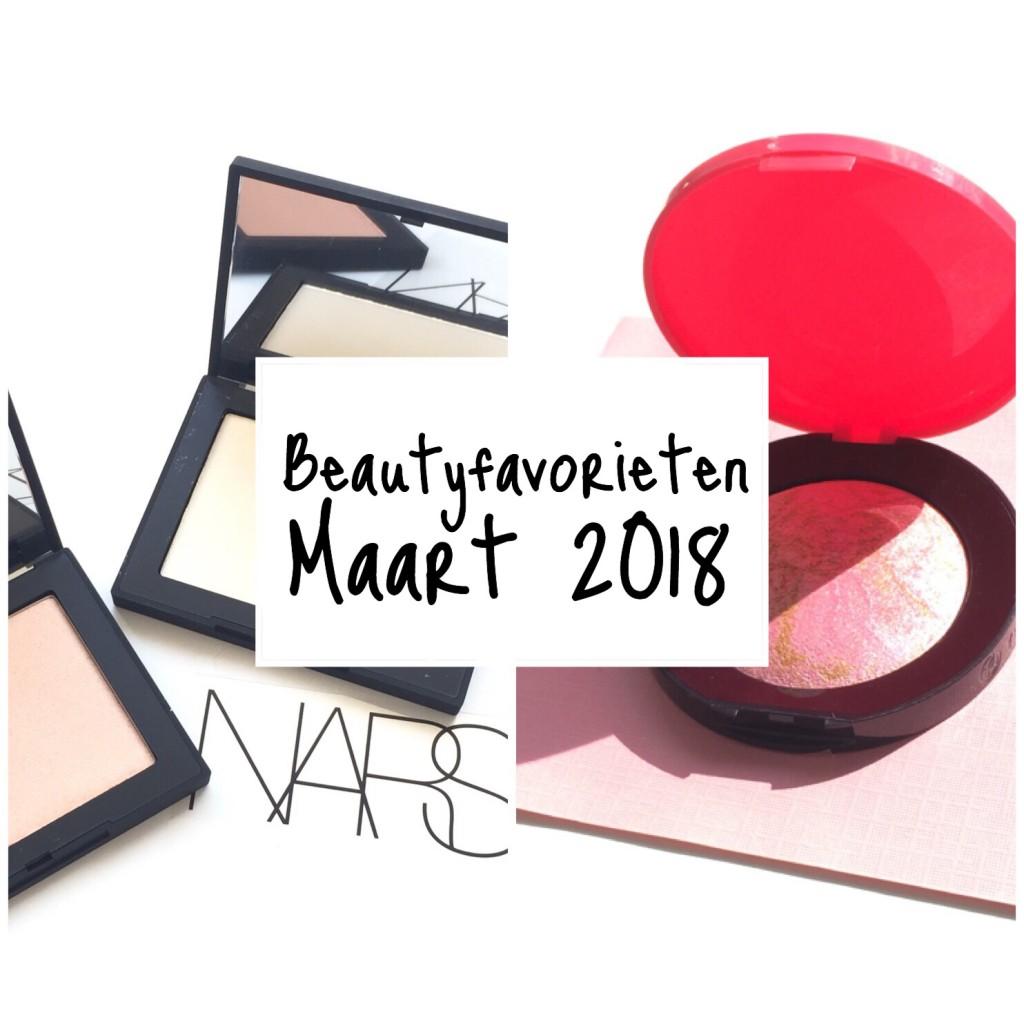 Beautyfavorieten Maart 2018