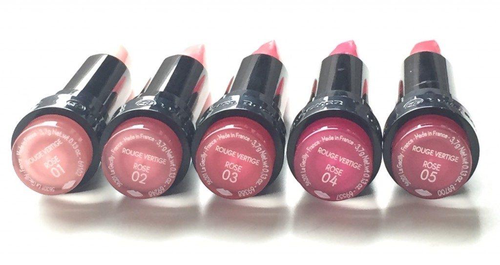 Yves Rocher Pink Mantra Lipsticks