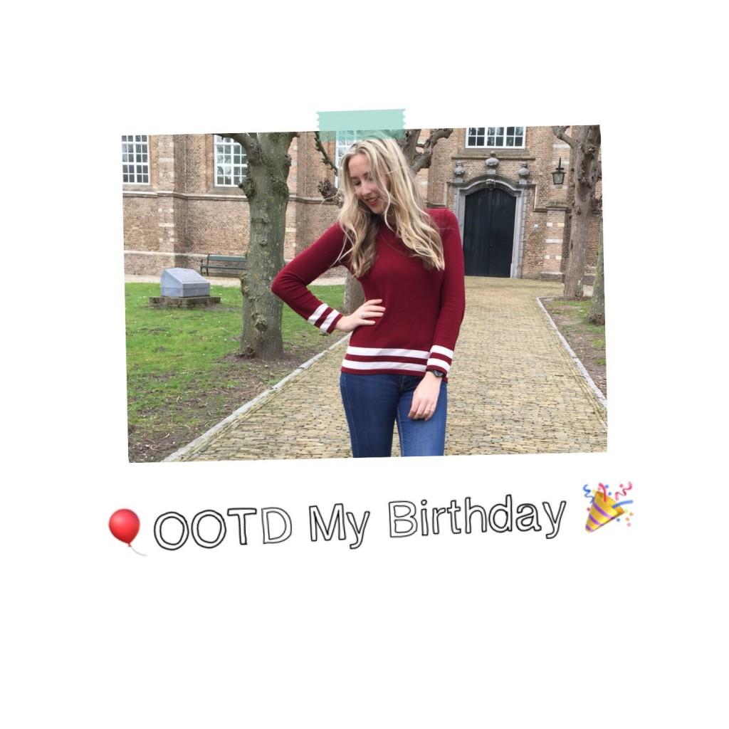 OOTD My Birthday