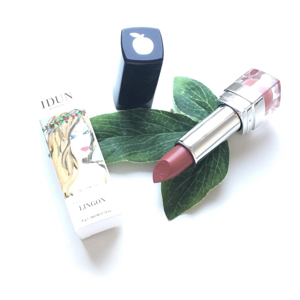 IDUN Minerals Matte Lipstick in Lingon